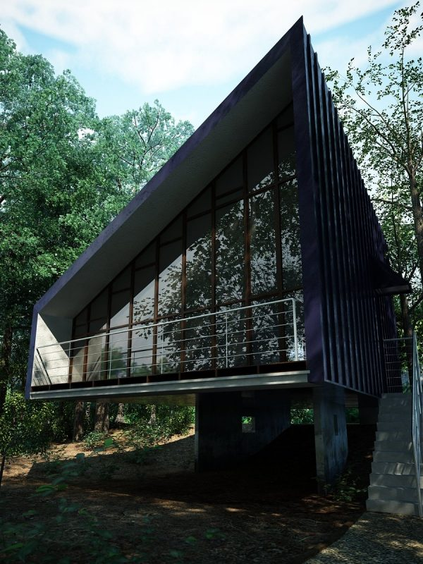 House Exterior Scene 003