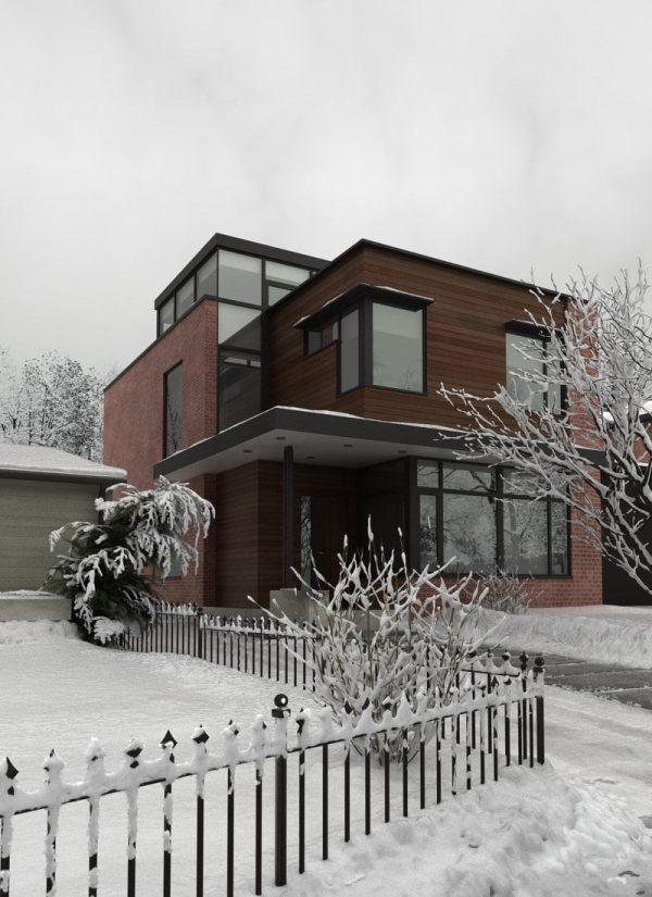 House Exterior Scene 046