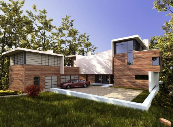 House 3d Max Exterior Scene 053
