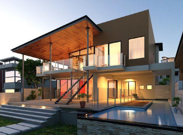 House Exterior Scene 056