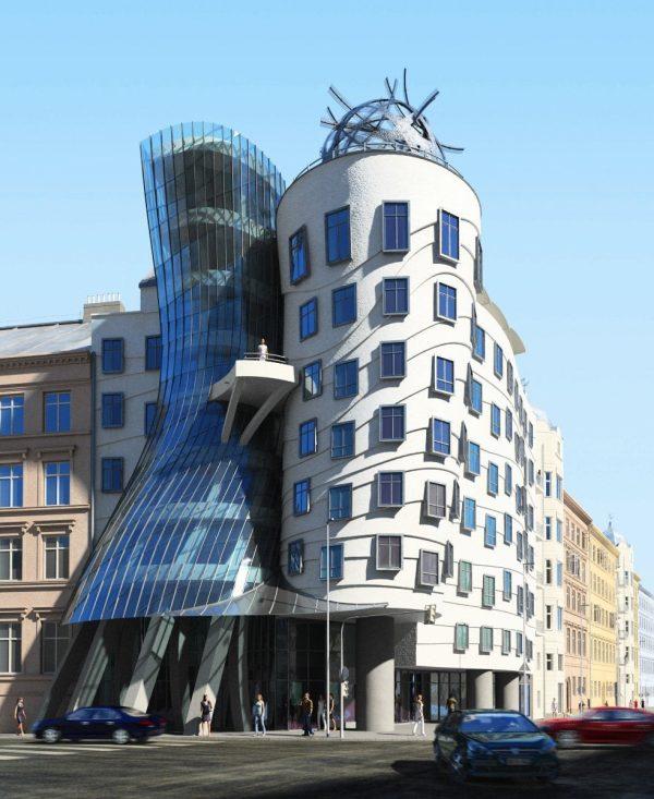 Mid-Rise Building Exterior Scene 001