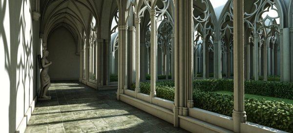 Gardens & Landscape Interior Scene 001