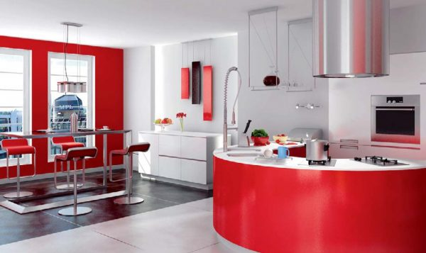 Kitchen & Dinning Interior Scene 001