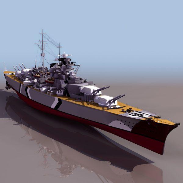 002-3d Models-Ships & Submarines