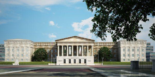 002-Exterior Scenes-Public Buildings-Smithsonian Institution
