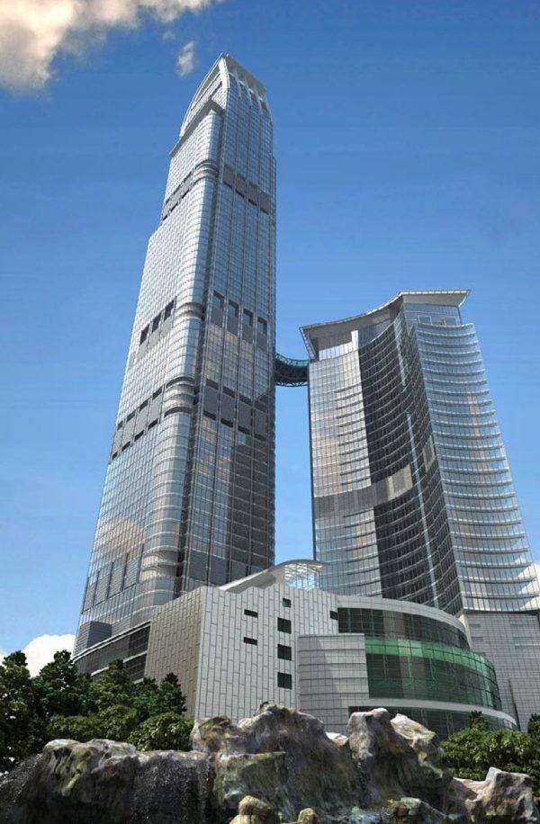003 Exterior Scenes High Rise Buildings