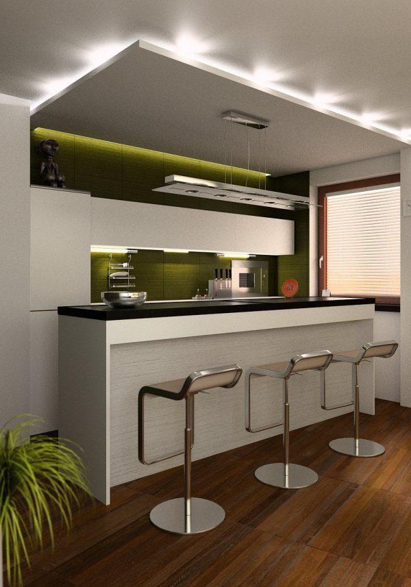Open Kitchen Interior Scene 003