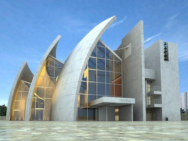 005-Exterior Scenes-Public Buildings-Jubilee Church