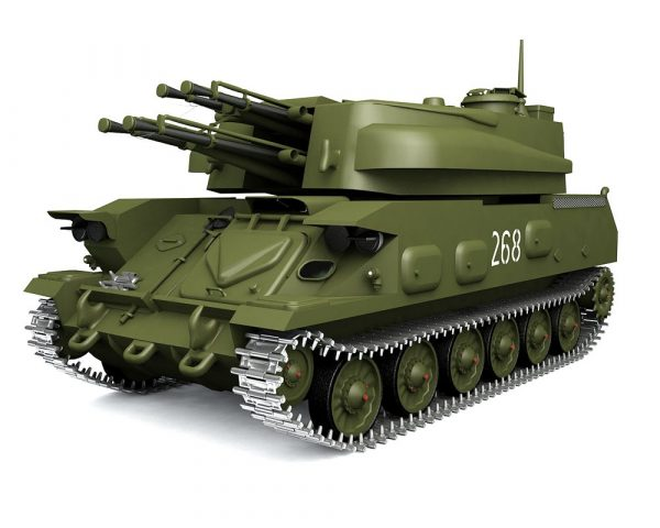 007-3d Models-Weaponry- Shilka Anti