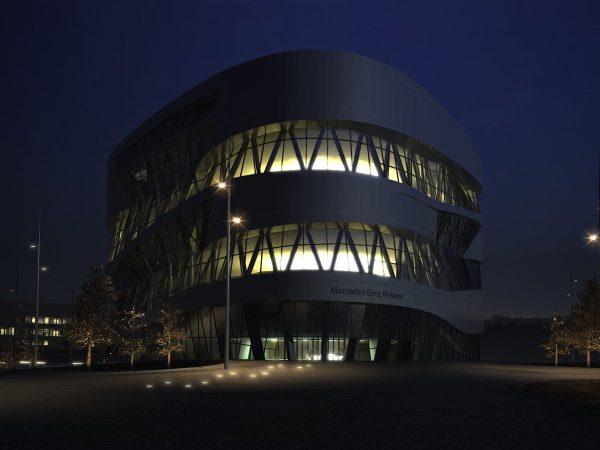 007-Exterior Scenes-Public Buildings-Mercedes-Benz Museum