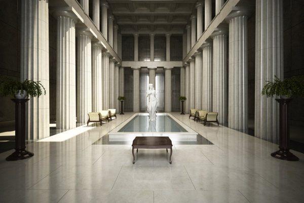Corridor & Lobby Interior Scene 007
