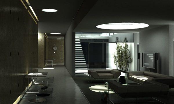 Living Room 3d Max Interior Scene 007