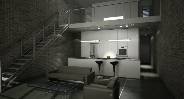 Living Room 3d Max Interior Scene 008