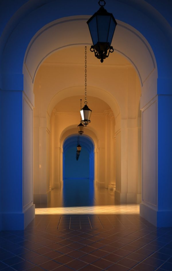 Corridor & Lobby Interior Scene 009