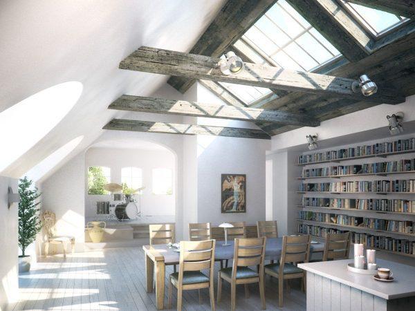 Interior Scenes Offices & Libraries 009