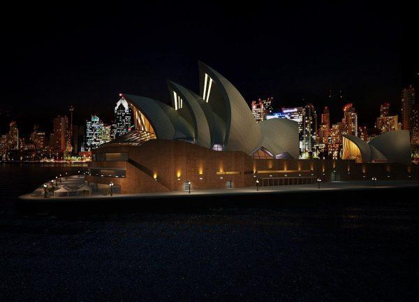 010-Exterior Scenes-Public Buildings-Sydney Opera House