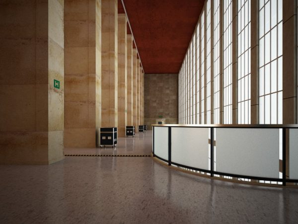 Corridor & Lobby Interior Scene 010