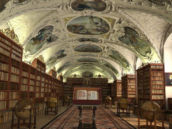 Library Interior Scene  010