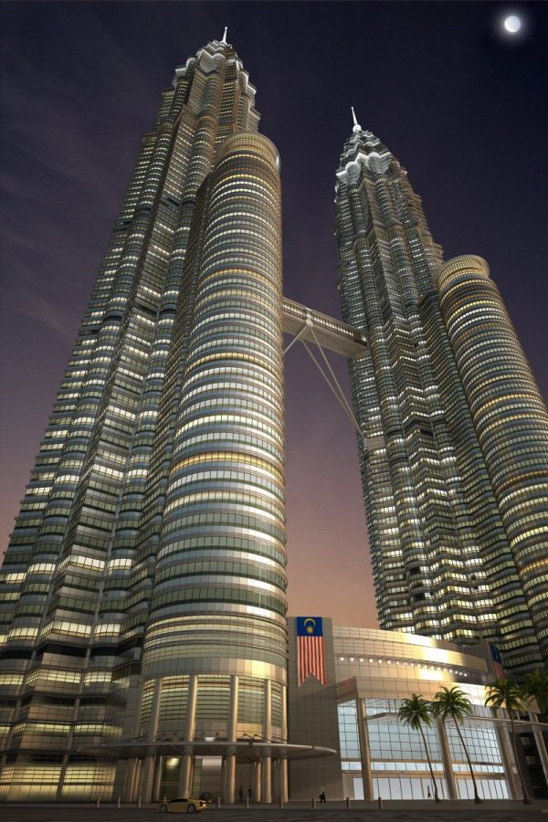 011-Exterior Scenes-Public Buildings-Petronas Twin Towers