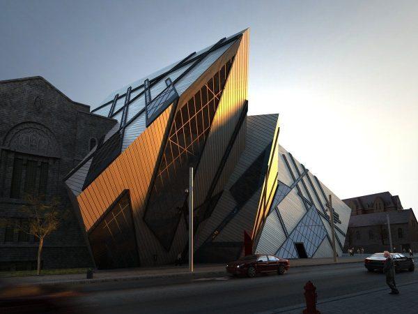 013-ExteriorScenes-Public Buildings-Royal Ontario Museum