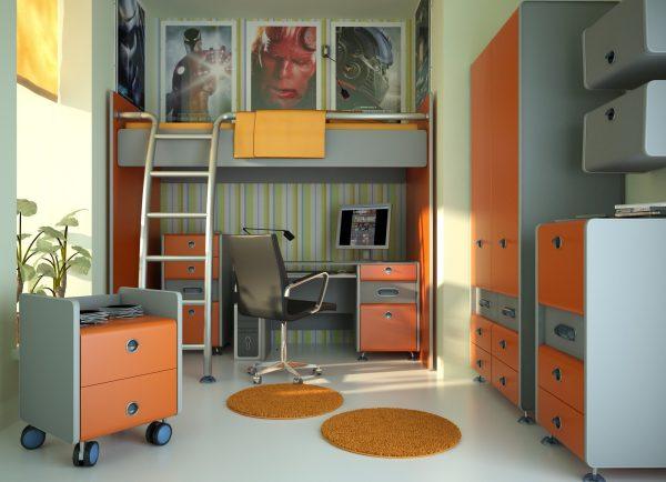 Kids Bedroom 3d Max Interior Scene 014