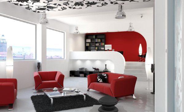 Living Room 3d Max Interior Scene 015