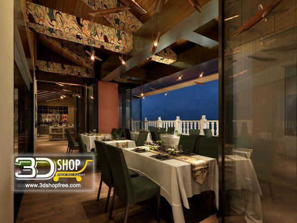 019-Interior Scenes-Cafes & Restaurants-Modern style