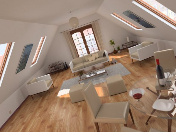 Living Room 3d Max Interior Scene 020