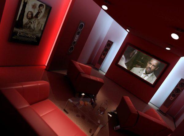 Living Room 3d Max Interior Scene 021