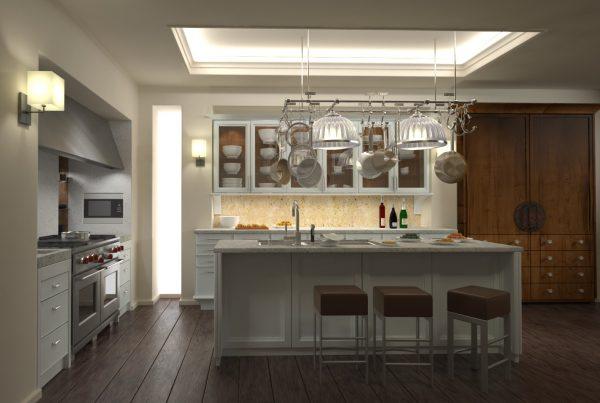 Kitchens & Dinning rooms Interior Scenes 023