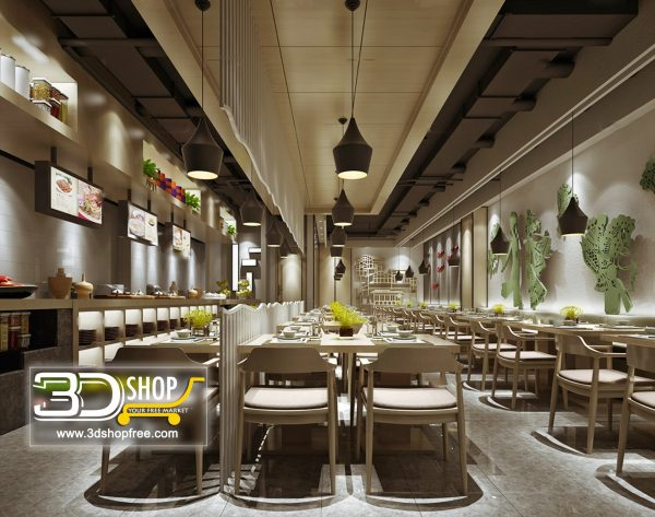 025-Interior Scenes-Cafes & Restaurants-Modern style