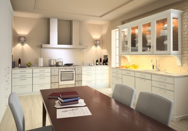 025-Interior Scenes-Kitchens & Dinningrooms