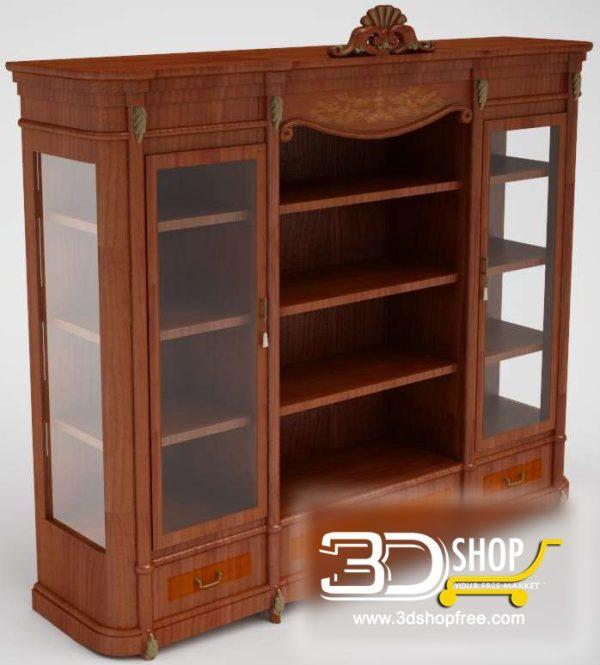 026-3d Models-Classic-Wardrobe & Display Cabinets