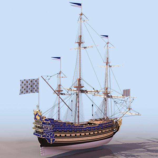 028-3d Models-Ships & Submarines