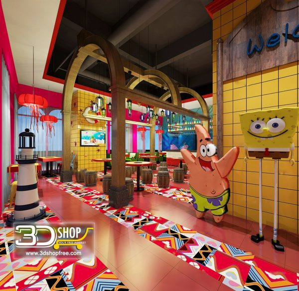 028-Interior Scenes-Cafes & Restaurants-Modern style