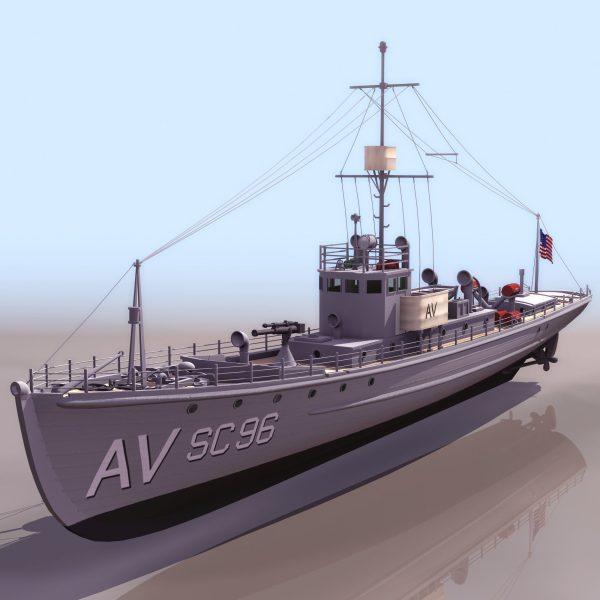 029-3d Models-Ships & Submarines