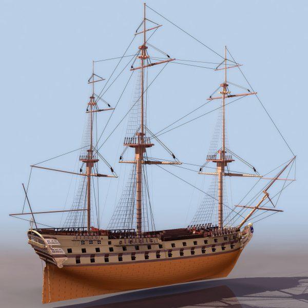 030-3d Models-Ships & Submarines