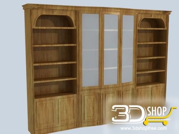 032-3d Models-Classic-Wardrobe & Display Cabinets