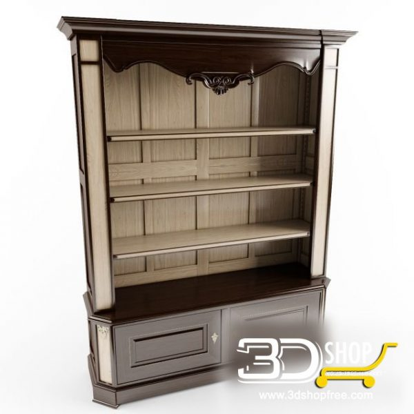 033-3d Models-Classic-Wardrobe & Display Cabinets