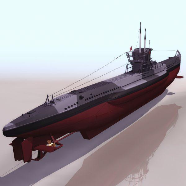 033-3d Models-Ships & Submarines