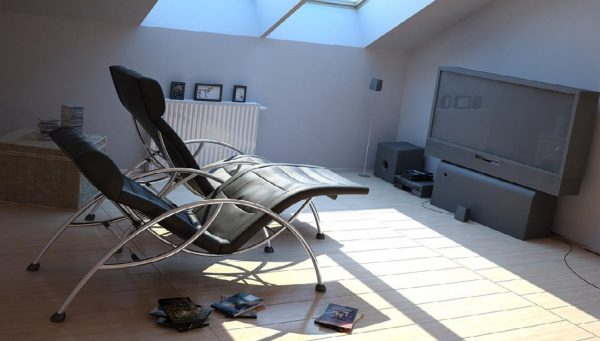 Living Room 3d Max Interior Scene 033