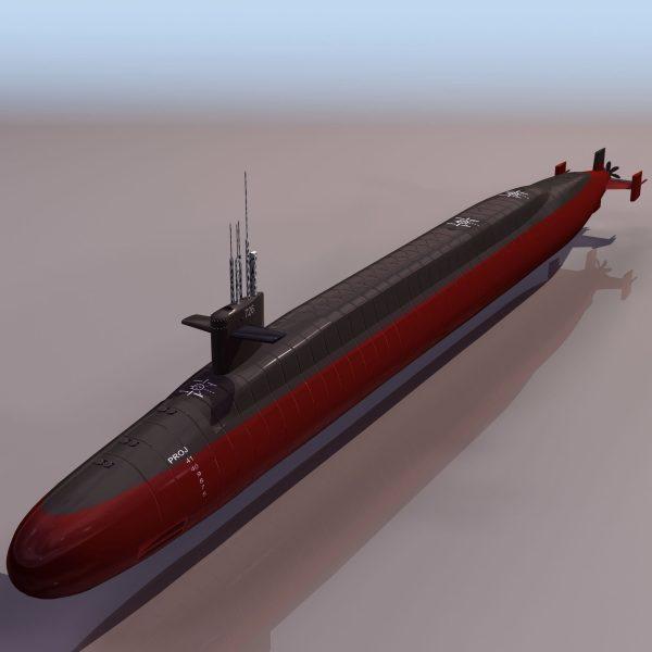034-3d Models-Ships & Submarines