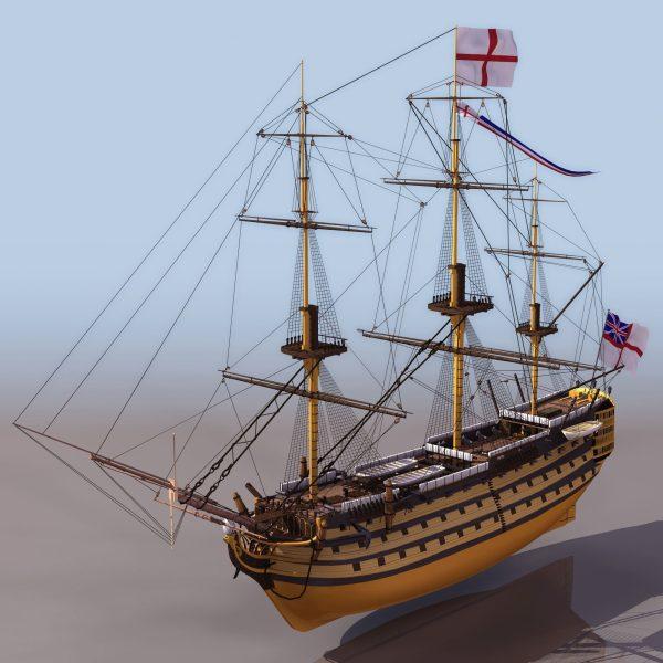 036-3d Models-Ships & Submarines