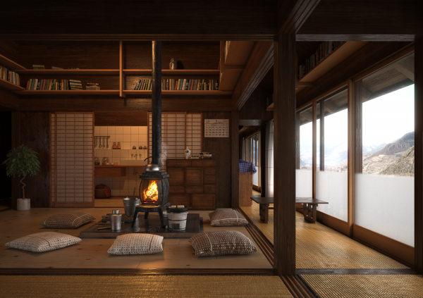 036-Interior Scenes-Kitchens & Dinningrooms