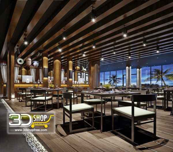 039-Interior Scenes-Cafes & Restaurants-Chinese style