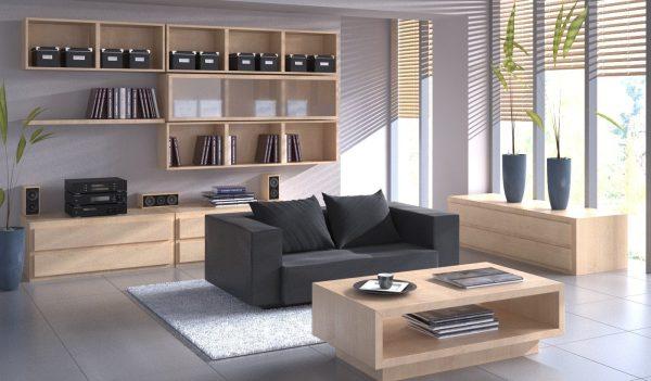 Living Room 3d Max Interior Scene 040