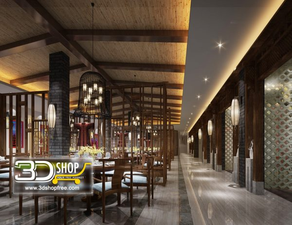 041-Interior Scenes-Cafes & Restaurants-Chinese style