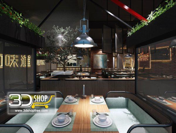 050-Interior Scenes-Cafes & Restaurants-Southeast Asian style