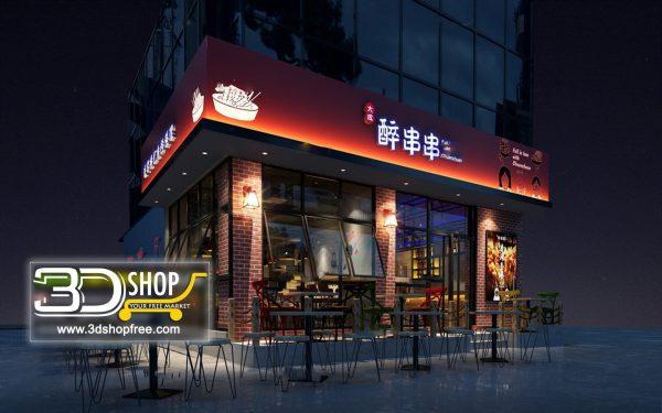058-Interior Scenes-Cafes & Restaurants-Industrial style