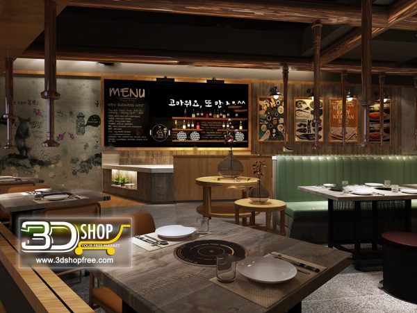 059-Interior Scenes-Cafes & Restaurants-Industrial style